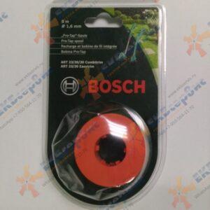 F.016.800.175 Bosch Шпулька (дозатор лески) с леской для всех триммеров ART Combitrim/Easytrim