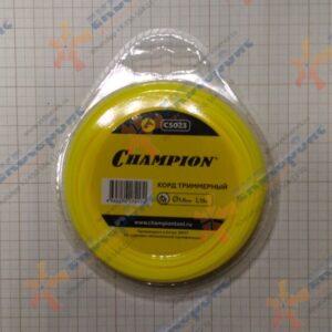 C5023 Champion Корд триммерный Star 1.6мм 15м (звезда)