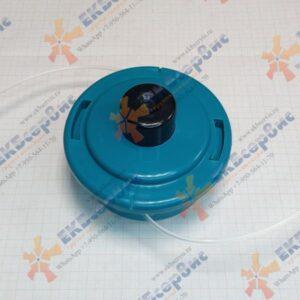 B-60143 Makita Триммерная головка полуавтоматическая M8x1.25LH, диаметр лески 2,4 мм, 2 лески для EM2500U/EM2600U/DUR361